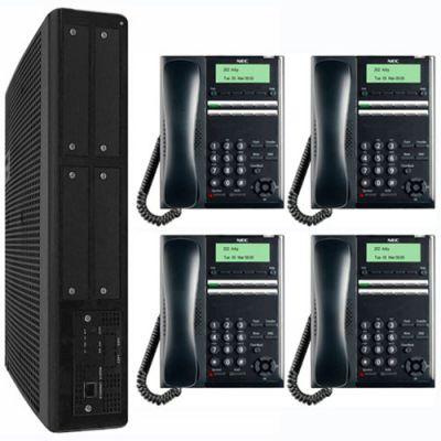 NEC SL2100 Digital Quick-Start Kit with 12-Button Digital Telephones (3x8x2) (BE117449)
