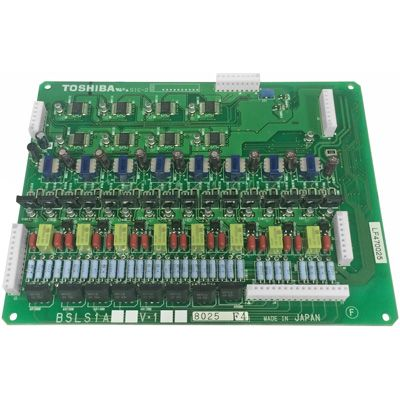 Toshiba BSLS1A 8-circuit Standard Telephone Subassemly Unit without MW (Refurbished)