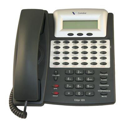 Comdial 7261-00 Telephone, 30-Buttons, LCD Display (Refurbished)