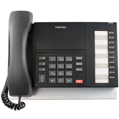 Toshiba DP5018-S Telephone, 10-Buttons, Speaker (Refurbished)