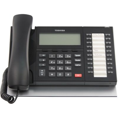Toshiba DP5132-SD Telephone, 20-Buttons, Speaker, 4-Line Backlit LCD (Refurbished)