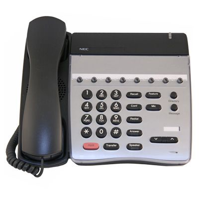 NEC DTH-8-1 Telephone with 8-Buttons, Non-Display (Refurbished)