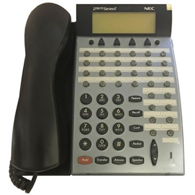 NEC DTP-32D-1 Telephone, 32-Buttons, Display (Refurbished)