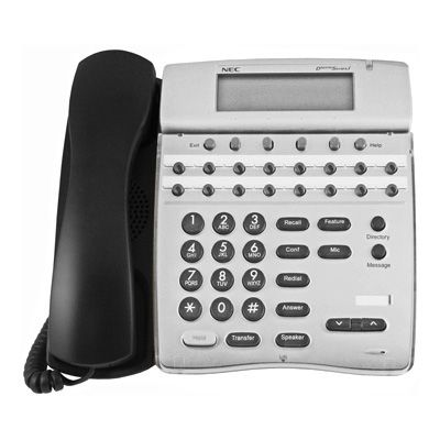 NEC DTR-16D-1 Telephone with 16-Buttons, Display (Refurbished)