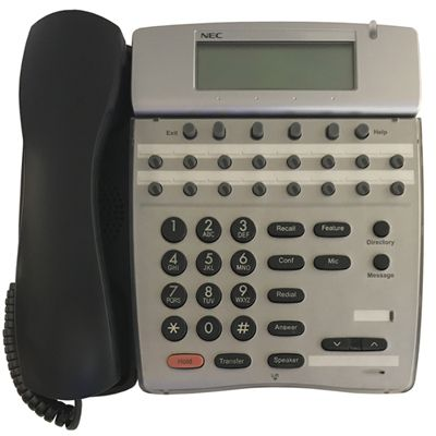 NEC DTR-16D-2 Telephone with 16-Buttons, Display (Refurbished)