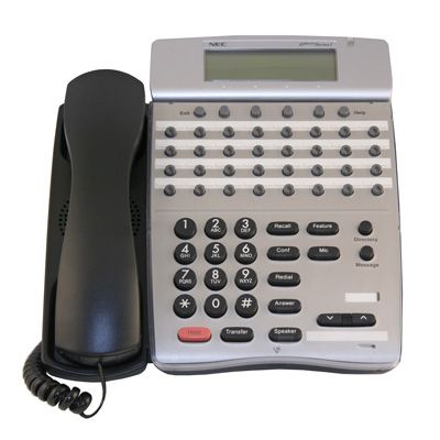 NEC DTR-32D-1 Telephone, 32-Buttons, Display (Refurbished)