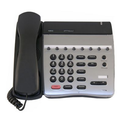 NEC DTR-8-1 Telephone with 8-Buttons, Non-Display (Refurbished)