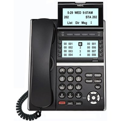 NEC DTZ-8LD DTE430 Digital Phone, 8-Buttons, Large Display