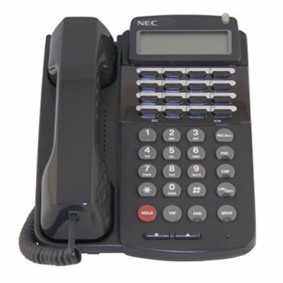NEC ETW-16DD-1 Telephone, Black, Display, Speakerphone (730015)