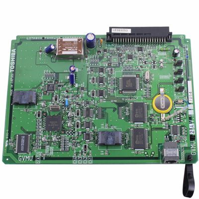 Toshiba CTX28 GVMU2A Voice Mail Circuit Card 4-Port  / 20Hrs (Refurbished)