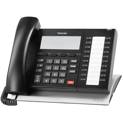 Toshiba IP5132-SD IP Telephone with 20-Buttons, 4-Line Backlit LCD (Refurbished)