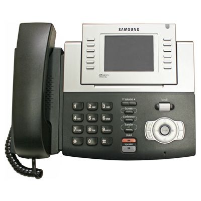Samsung ITP-5112L VoIP Phone, 12-Button & Large Display (Refurbished)