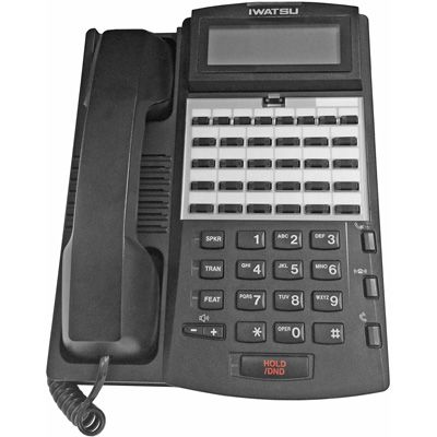 Iwatsu ADIX IX-24KTD-3 Digital Telephone with 24-Btns, Display (Refurbished)