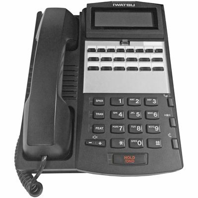 Iwatsu ADIX IX-12KTD-3 Digital Telephone with 12-Btns, Display (Refurbished)