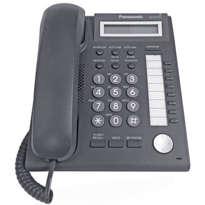 Panasonic KX-DT321 Digital Telephone with 8-Buttons & 1-Line Backlit LCD (Refurbished)