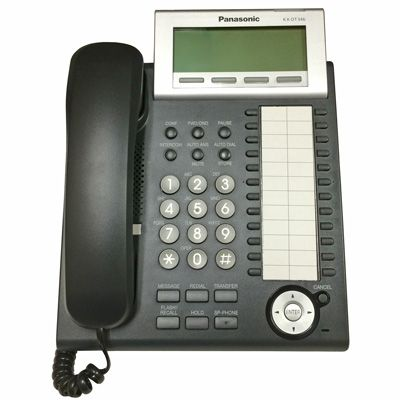 Panasonic KX-DT346 Digital Telephone with 24-Buttons & 6-Line Backlit LCD (Refurbished)