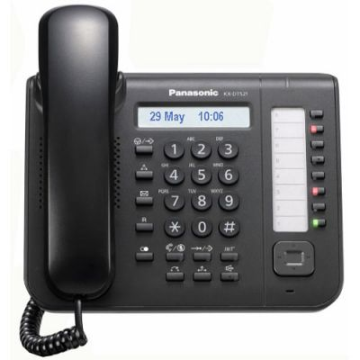 Panasonic KX-DT521 Digital Telephone with 8-Buttons & 1-Line Backlit LCD (Refurbished)