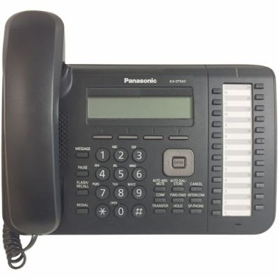 Panasonic KX-DT543 Digital Telephone with 24-Buttons & 3-Line Backlit LCD (Refurbished)