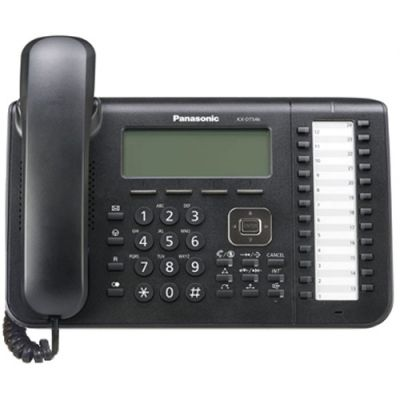 Panasonic KX-DT546 Digital Telephone with 24-Buttons & 6-Line Backlit LCD (Refurbished)