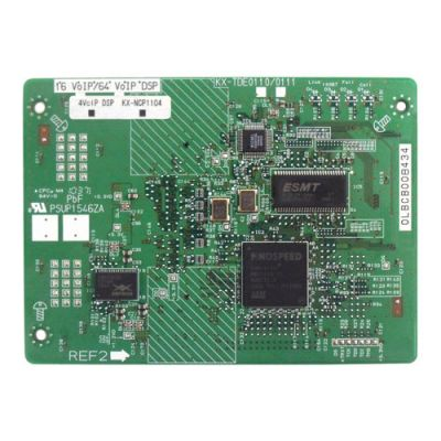 Panasonic KX-NCP1104 4-Channel VoIP DSP Card (DSP4) (Refurbished)
