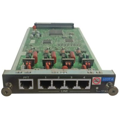Panasonic KX-NCP1180 4-Port Analog Trunk Card (LCOT4) (Refurbished)