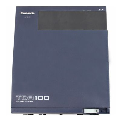 Panasonic KX-TDA100 Advanced Hybrid IP-PBX Telephone System (0x0) (Refurbished)