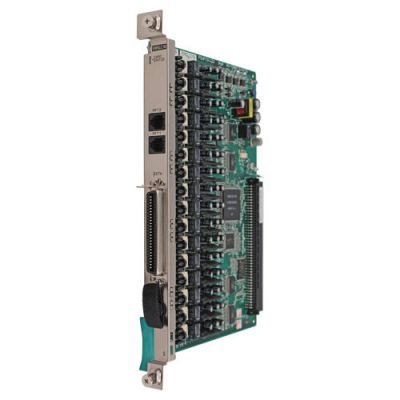 Panasonic KX-TDA6175 16-Port SLT Extension Card with Message Waiting Lamp (EMSLC16) (Refurbished)