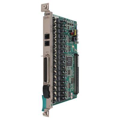 Panasonic KX-TDA6175 16-Port SLT Extension Card with Message Waiting Lamp (EMSLC16) (Refurbished)