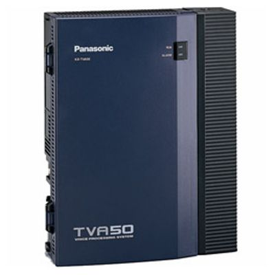 Panasonic KX-TVA50 Voicemail - 2 Ports / 4 Hours of Storage / 64 Mailboxes (Refubished)