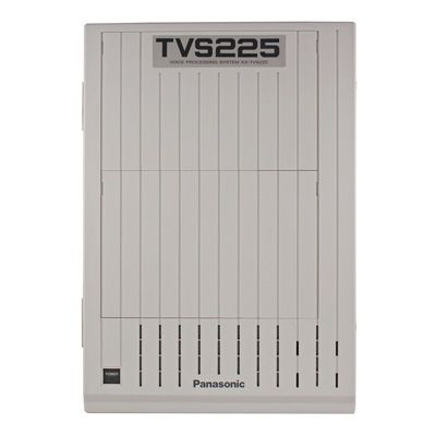 Panasonic KX-TVS225 Voice Mail - 4 Ports / 64 Hours of Storage / 1024 Mailboxes (Refurbished)