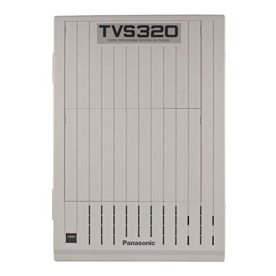 Panasonic KX-TVS320 Voicemail - 4 Ports / 128 Hours of Storage / 1024 Mailboxes (Refurbished)