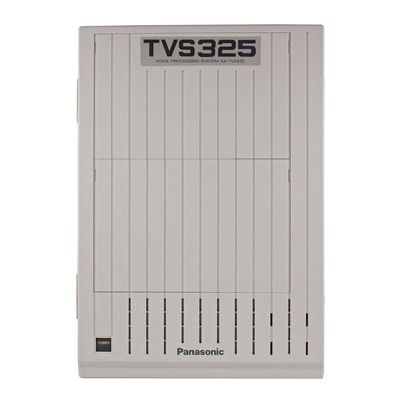 Panasonic KX-TVS325 Voicemail - 4 Ports / 128 Hours Storage / 1024  Mailboxes (Refurbished)