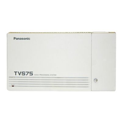 Panasonic KX-TVS75 Voicemail - 2 Ports / 6 Hours of Storage / 64 Mailboxes (Refurbished)