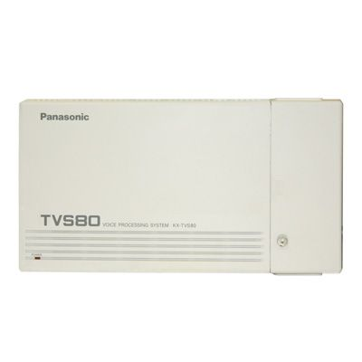 Panasonic KX-TVS80 Voicemail - 2 Ports / 6 Hours of Storage / 64 Mailboxes (Refurbished)