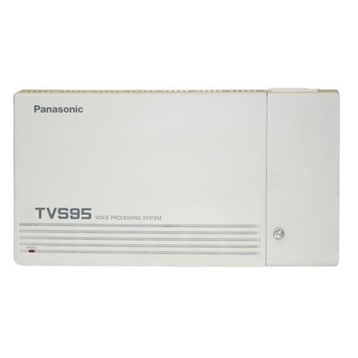Panasonic KX-TVS95 Voicemail - 2 Ports / 6 Hours of Storage / 64 Mailboxes (Refurbished)