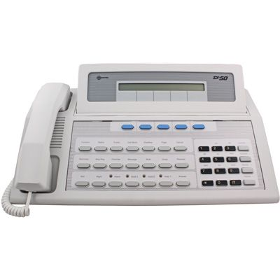 Mitel # 9104-060-101 SX50 Console - White Tilt LCD (Refurbished)