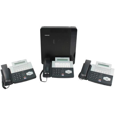 Samsung OfficeServ 7030 Starter Kit with (3) DS5014D Phones (FBOS703001) (New)