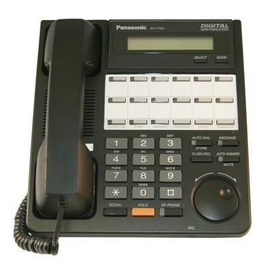 Panasonic KX-T7431 Phone, 12-Buttons, Speakerphone, 1-Line LCD Display (Refurbished)