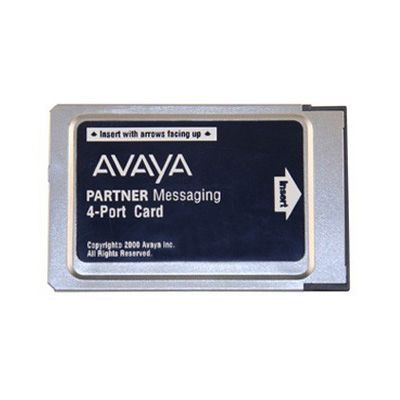 Avaya Partner Messaging Card (4-Port) (Refurbished)
