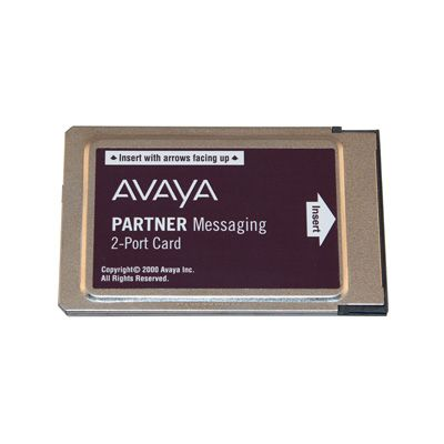 Avaya Partner Messaging Card (2-Port) (Refurbished)