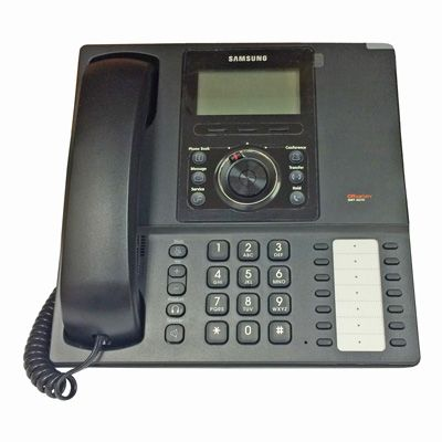 Samsung SMT-i5210D IP Phone, 14-Button, Backlit LCD & Speakerphone (Refurbished)