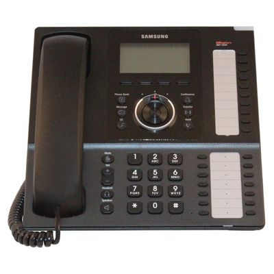 Samsung SMT-i5220 IP Phone, 24-Button, Backlit LCD & Speakerphone (Refurbished)