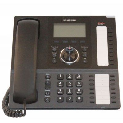Samsung SMT-i5220S IP Phone, 24-Button, Backlit LCD & Speakerphone (Refurbished)