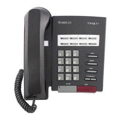Vodavi Triad TR-9011 Telephone, 8-Buttons, Non-Display (Refurbished)