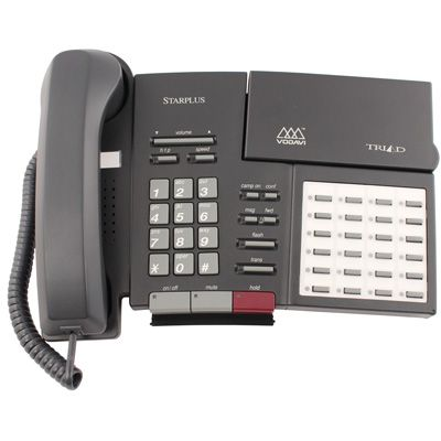 Vodavi Triad TR-9013 Telephone, 24-Buttons, Non-Display, Speakerphone (Refurbished)