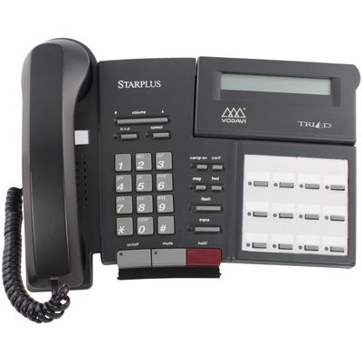 Vodavi Triad TR-9014 Telephone, 12-Buttons, Speakerphone, Display (Refurbished)