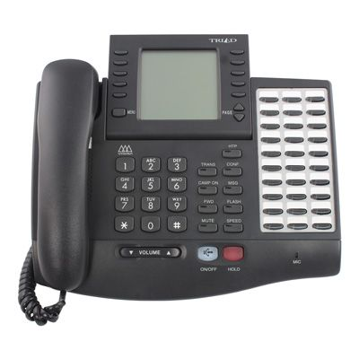Vodavi Triad TR-9016 Telephone, 30-Buttons, Speakerphone, Large Display (Refurbished)