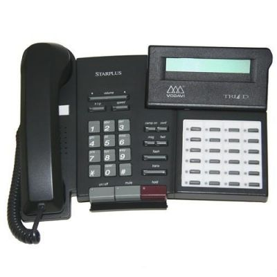 Vodavi Triad TR-9015 Telephone, 24-Buttons, Speakerphone, Display (Refurbished)