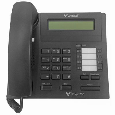 Vertical Edge 700 Digital Phone, 8-Buttons, Display (VW-E700-8B)